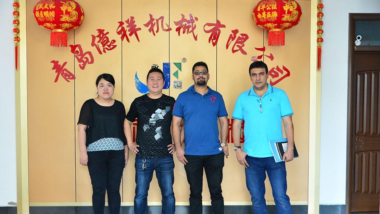 孟加拉客户来访亿祥公司