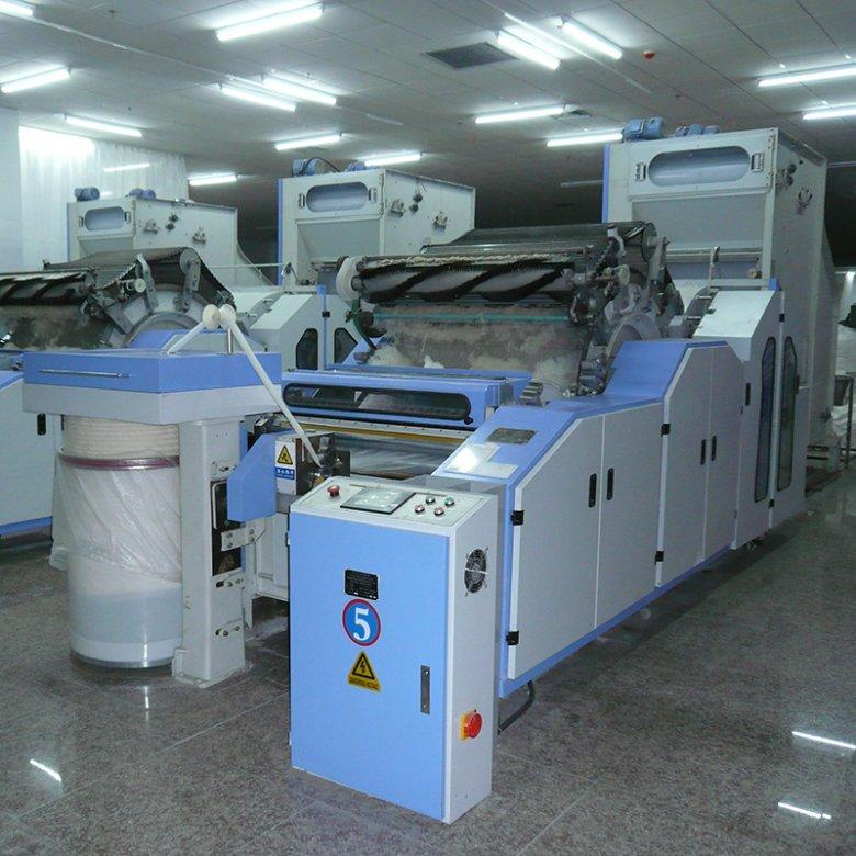 YX208半精纺梳理机