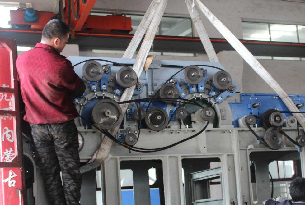 2019年5月8日为蒙古国客户发货现场